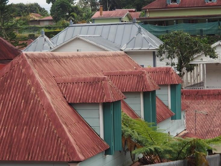 Les toits de Hell Bourg
