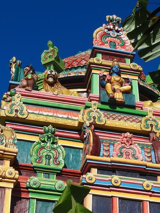 Temple tamoul à St Pierre