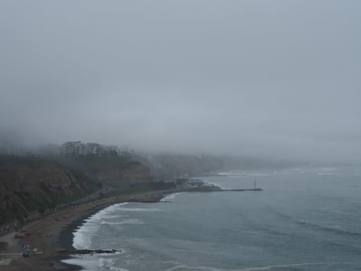 La brume permanente à Lima