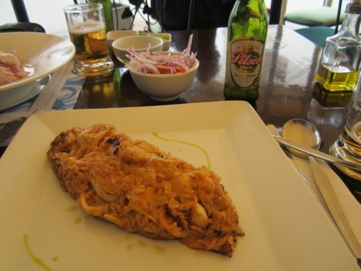 Le plat péruvien tacu tacu