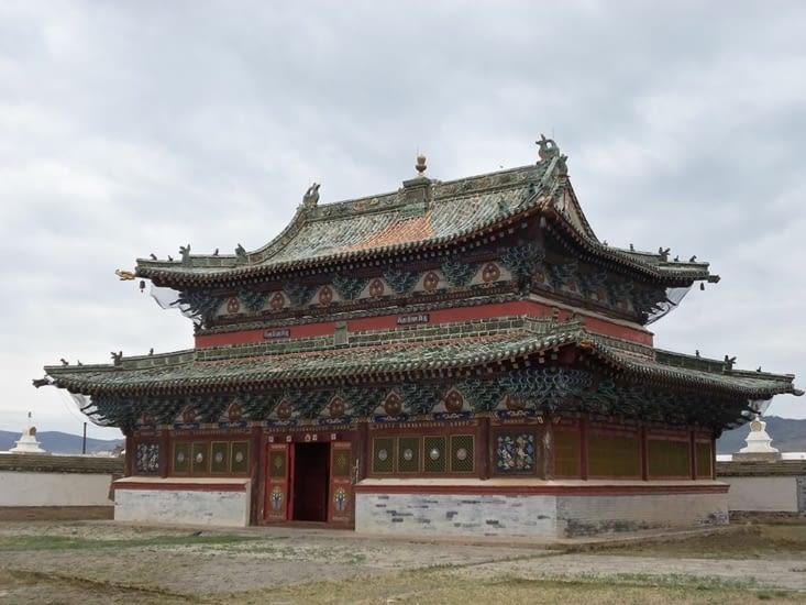 Un des rares bâtiments toujours debout malgré les différentes destructions qu'a connu le monastère