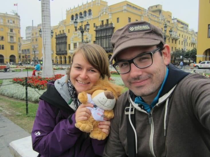 Petite photo sur la plaza Mayor