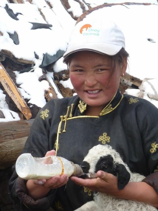 Ganchimeg, véritable héroïne au sein du camp