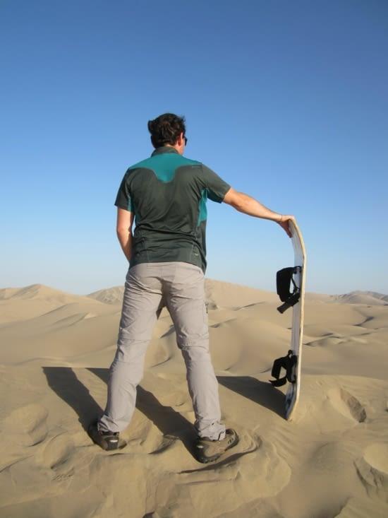 Du sandboard sur les dunes de Huacachina pour Ronron !