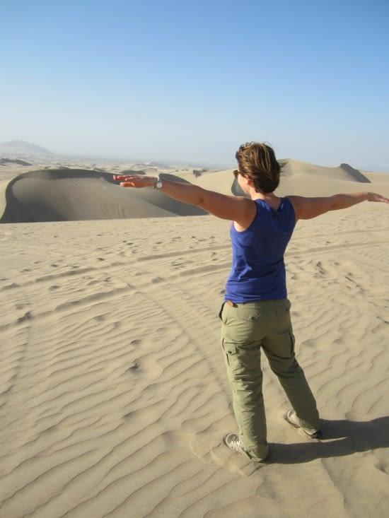 Yoyo dans les dunes de Huacachina