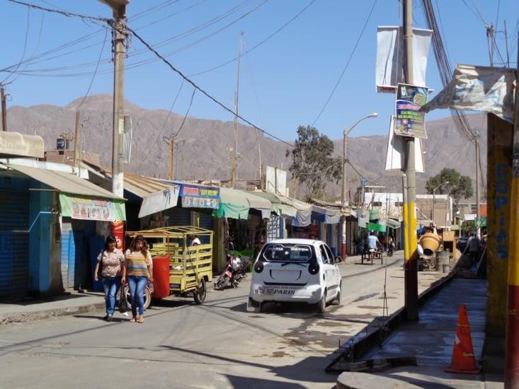 Les petites rues de Nazca