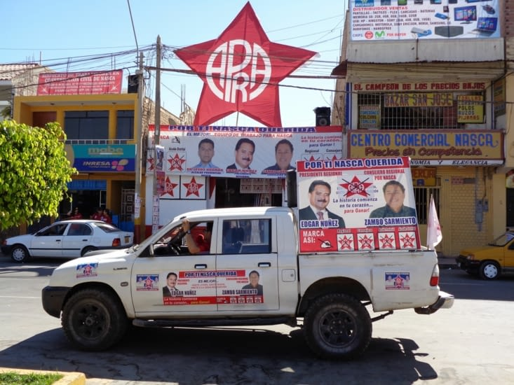 Les politiciens rameutent de nouveaux électeurs à coup de campagnes visuelles et sonores (très sonores)