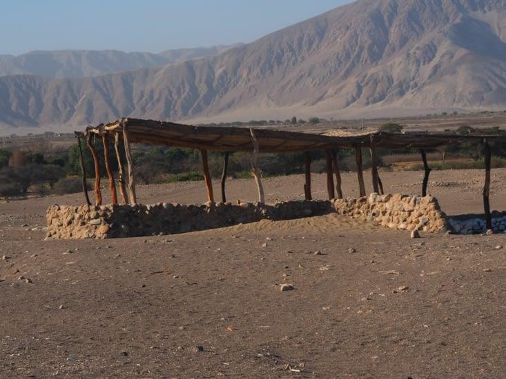 Une tombe du cimetière de Chauchilla