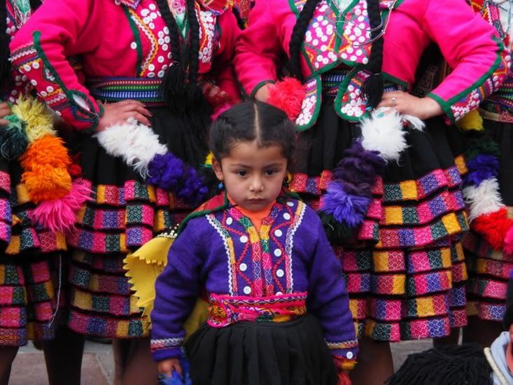 Des représentations traditionnelles sur la Plaza de Armas de Cusco