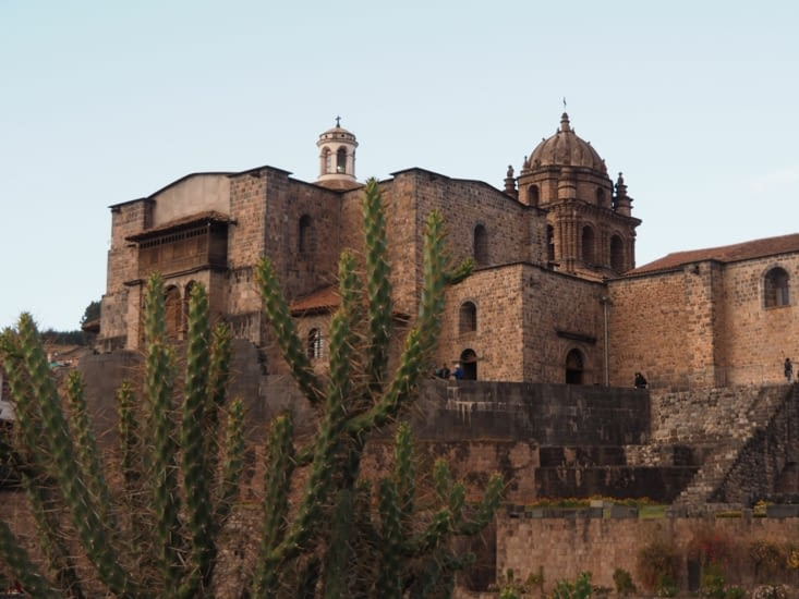 Le monastère de Santo Domingo