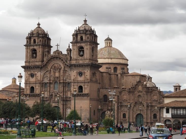L'église de la Compania de Jesus, à Cusco