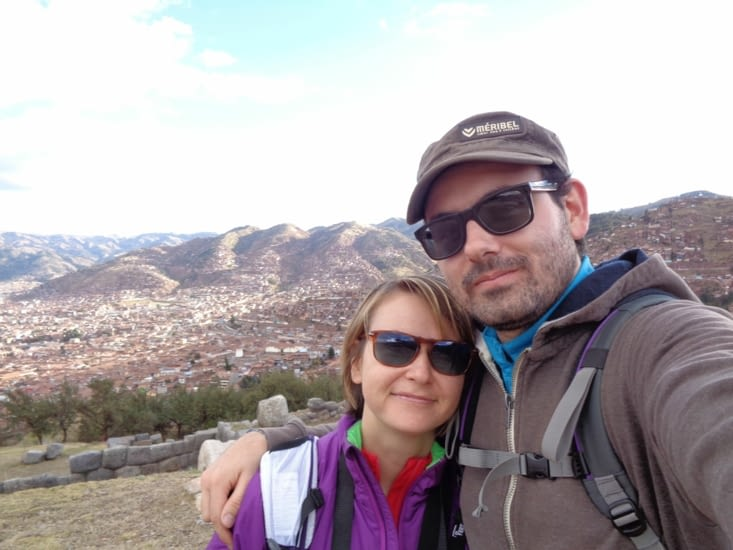 Selfie sur les hauteurs de Cusco
