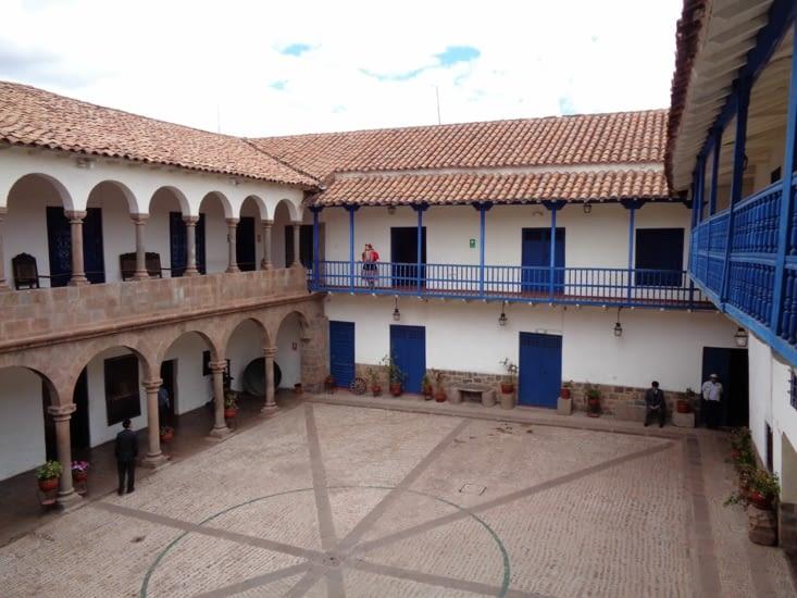 Une habitation coloniale typique de Cusco