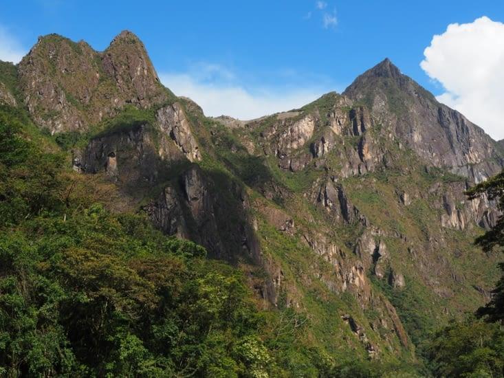 1ère vue sur le Machu Picchu