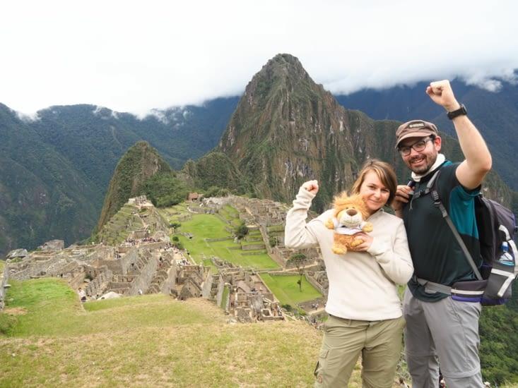 Aldebert, Yoyo et Ronron au Machu Picchu !
