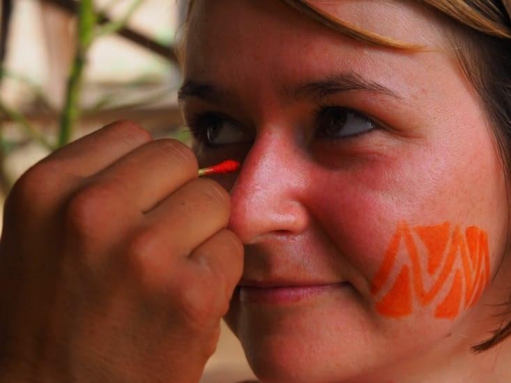 Initiation au maquillage Inca