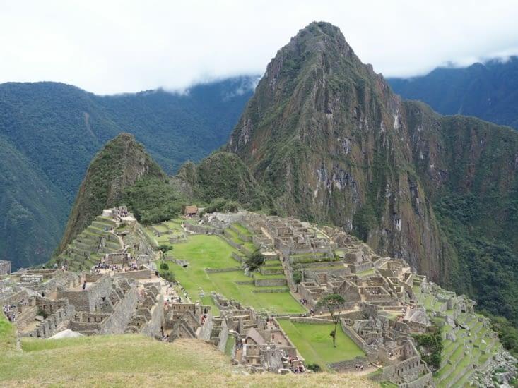 Le Machu Picchu après 4 jours de d'Inka Jungle Trail