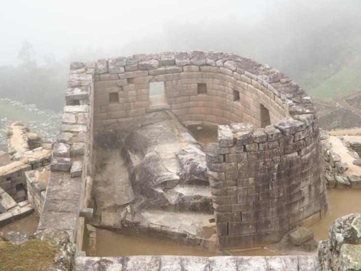 Le temple du soleil du Machu Picchu