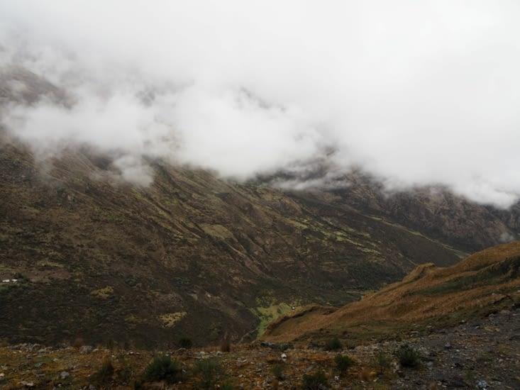 Les paysages montagneux au point culminant de notre périple