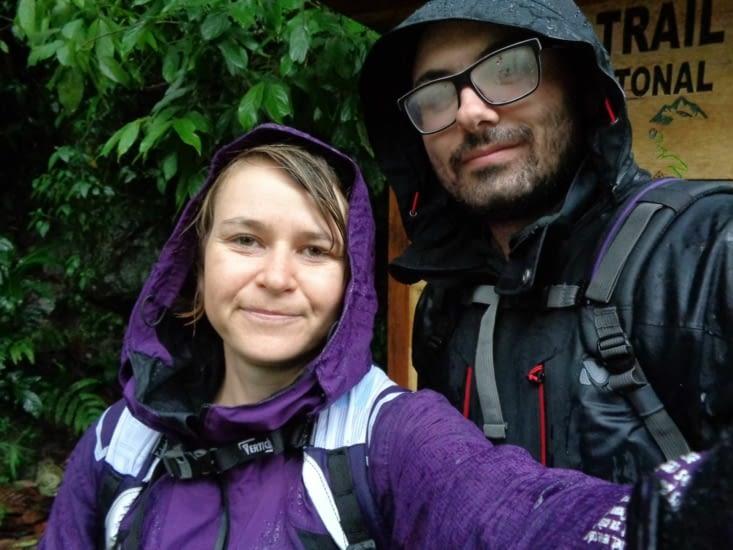 Retour pluvieux... retour heureux !