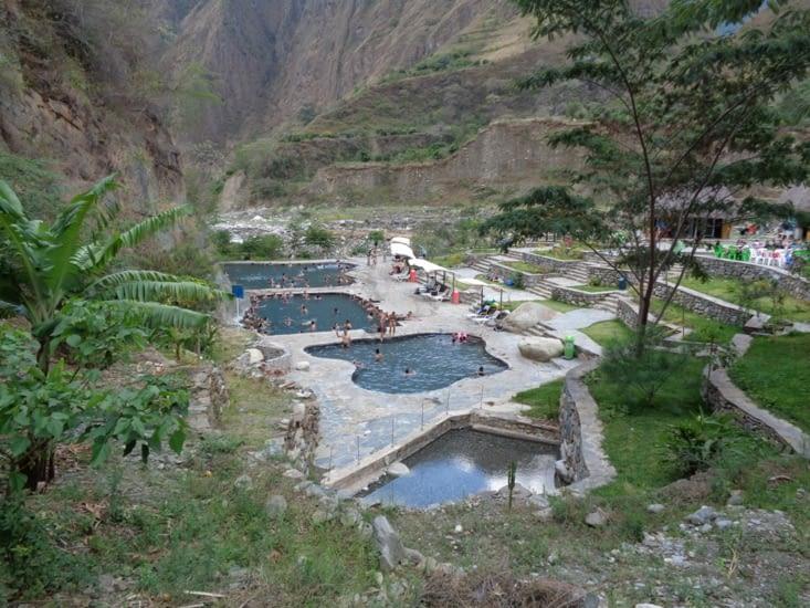 Santa Teresa et ses sources d'eau chaude