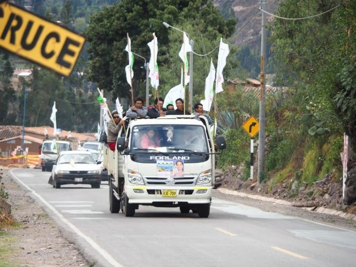 Les campagnes politiques enflamment les foules au Pérou