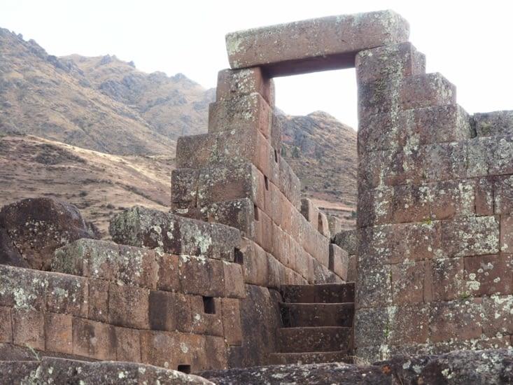 Vestige de ruines de Pisac