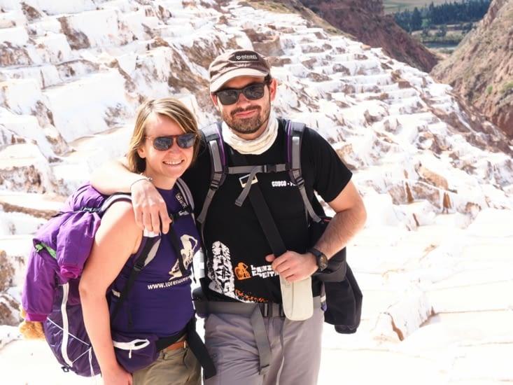 Yoyo et Ronron visitent les salines de la vallée sacrée des Incas