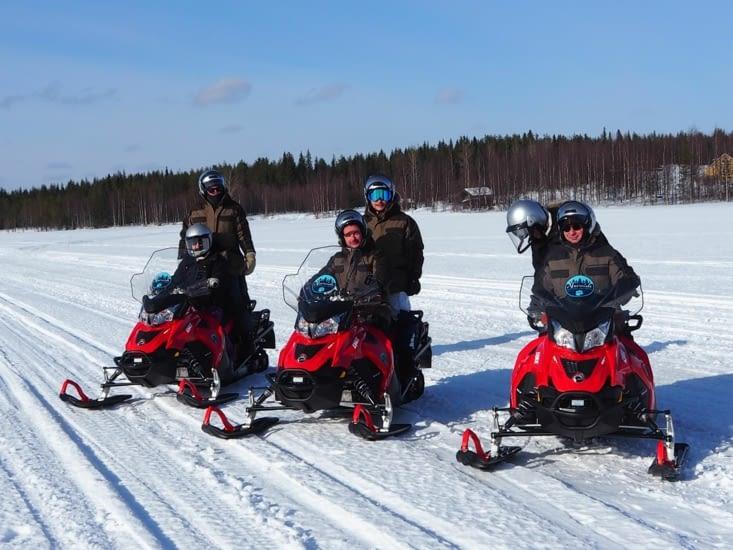 Motos neige