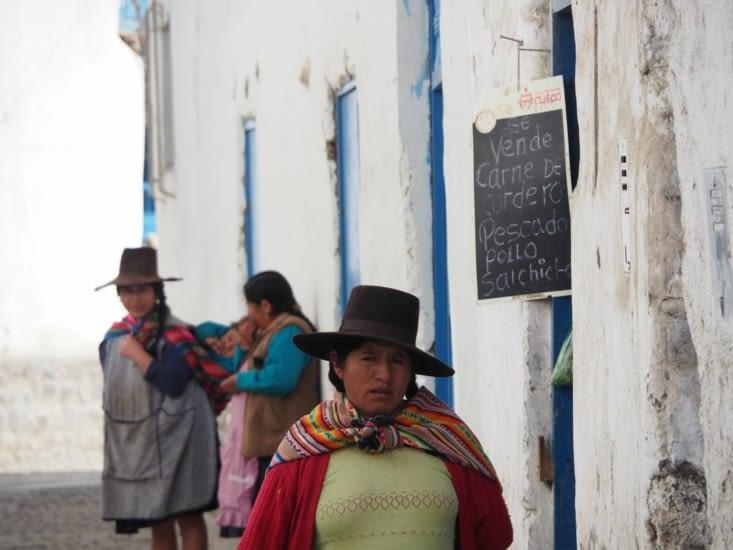 Les habitantes de Paucartambo
