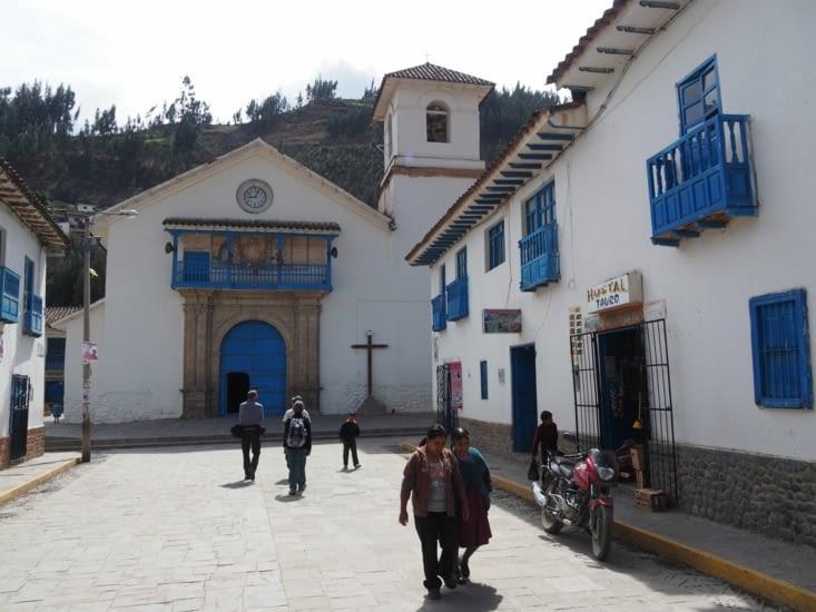 L'église de Paucartambo