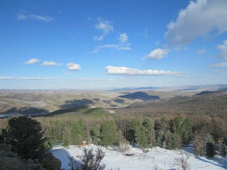 Un autre panorama visible depuis le haut du monastère