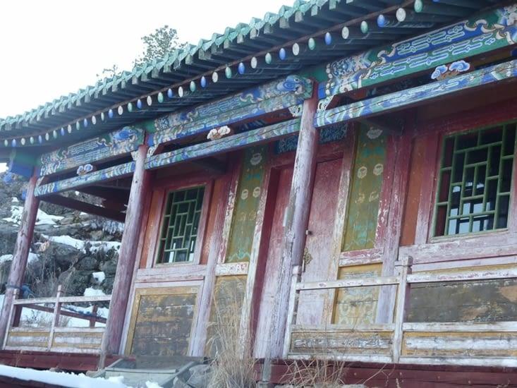 Une des bâtisses du monastère