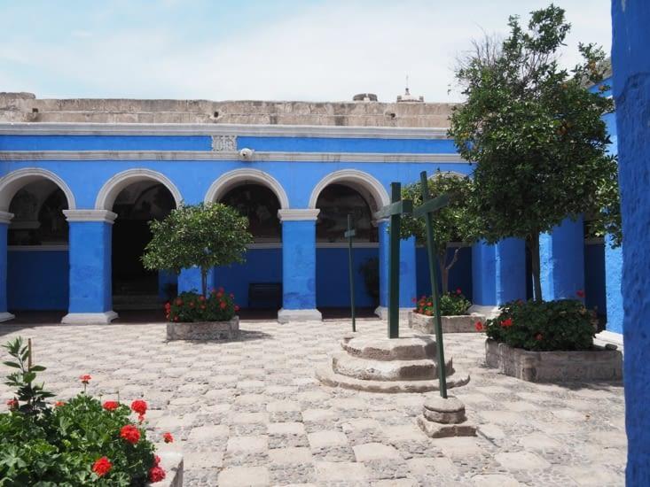 Les cours du monastère Santa Catalina d'Arequipa