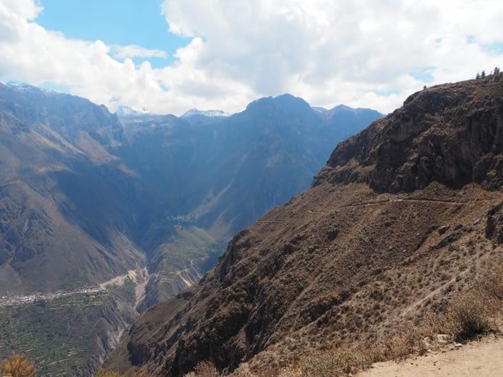 Le Canyon del Colca pendant la descente