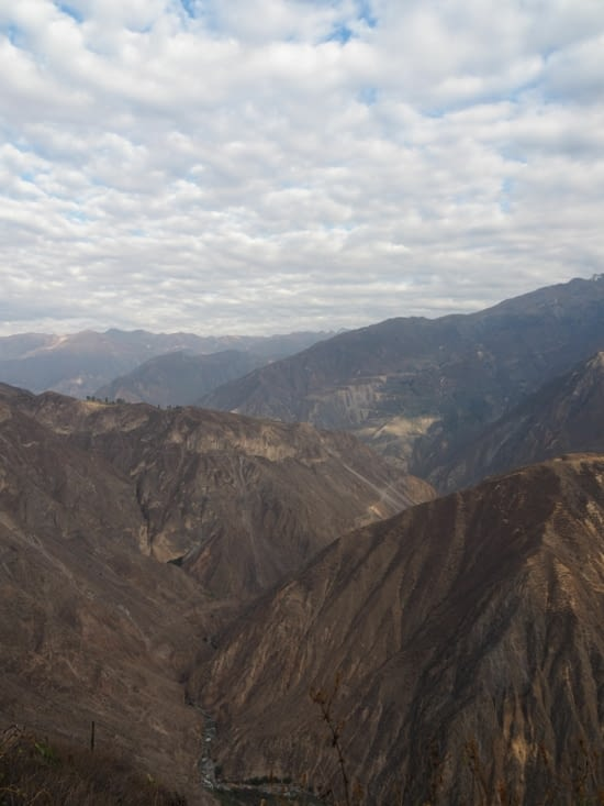Le Canyon del Colca pendant l'ascension