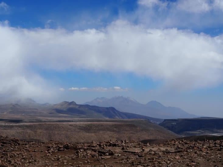 Le mirador del volcanos