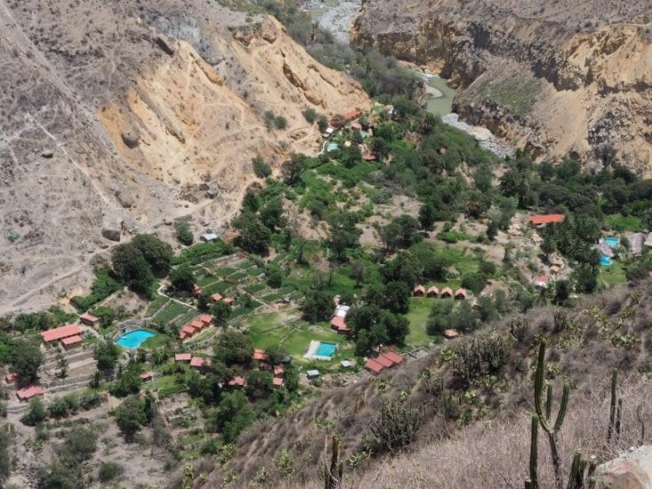 L'oasis au fond du Canyon del Colca