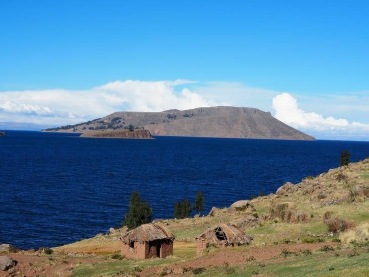 Le bleu du lac Titicaca