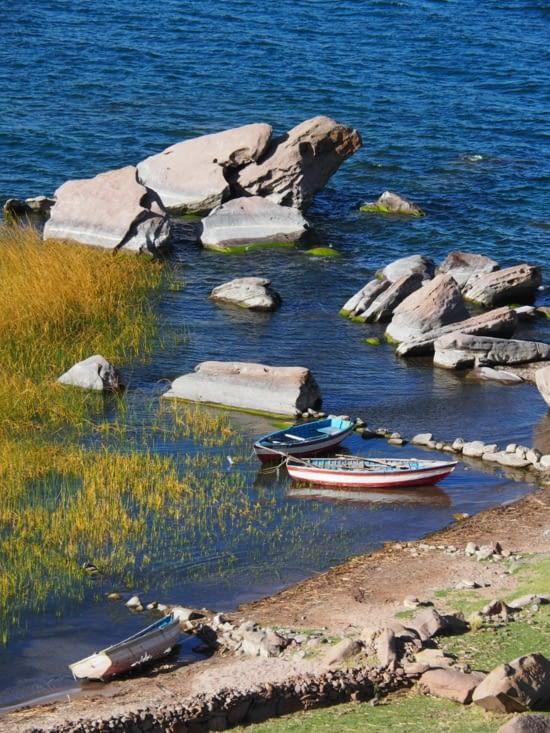 Les bateaux de pécheurs à Paramis