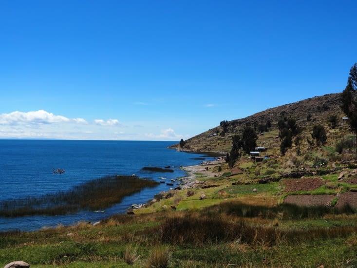 Paramis : promenade sur les rives du lac Titicaca