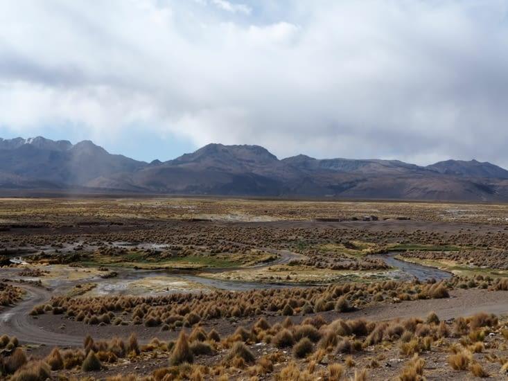 Les contrastes du parc national du Sajama