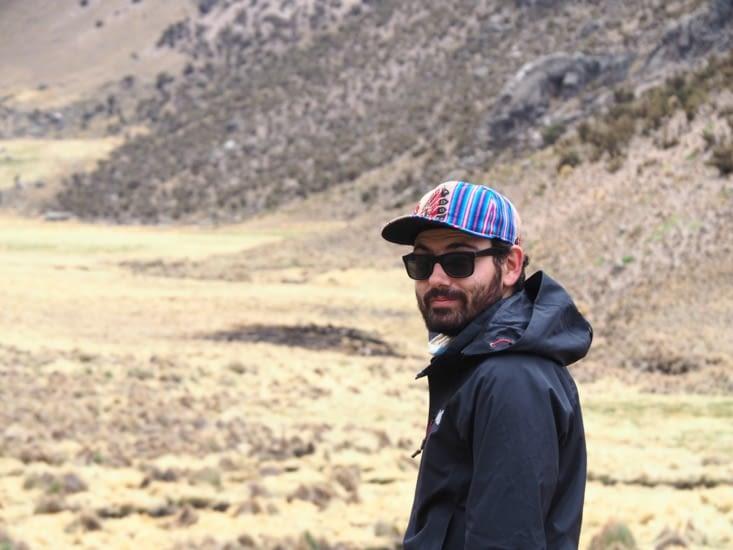 Ronron dans une vallée du parc national de Sajama