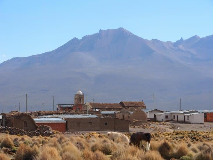 Sajama, une petite ville oubliée à 5h de route de La Paz