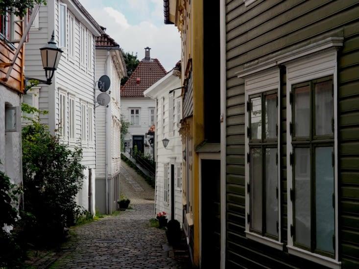 Promenade dans les rues de Bergen