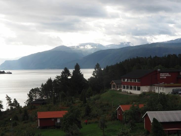Le Dragsvik Fjord Hotel : un hôtel super