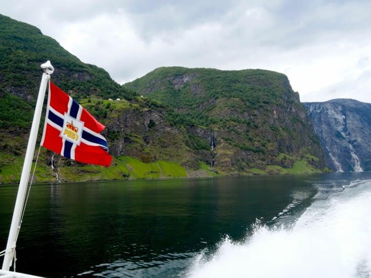 Sognefjord, sur le ferry