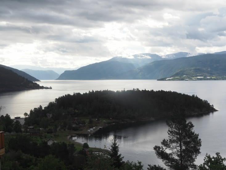 Un embranchement du Sognefjord