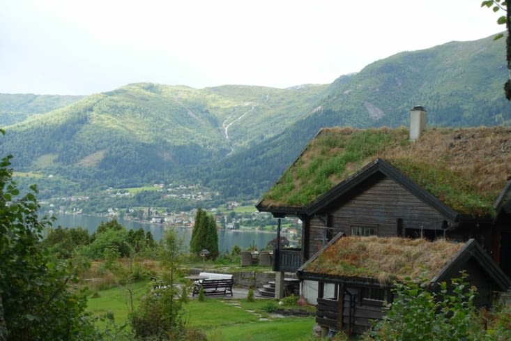 Une maison de Balestrand