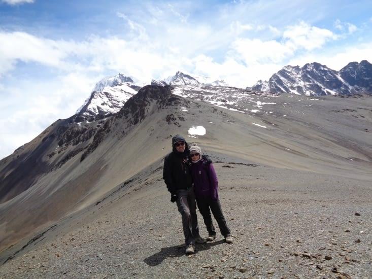 Le passage du col à plus de 4900 mètres d'altitude